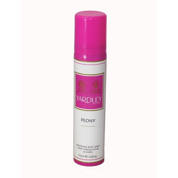 Yardley of London 'Peony Perfume' Women's 2.6-ounce Body Spray (Unboxed)