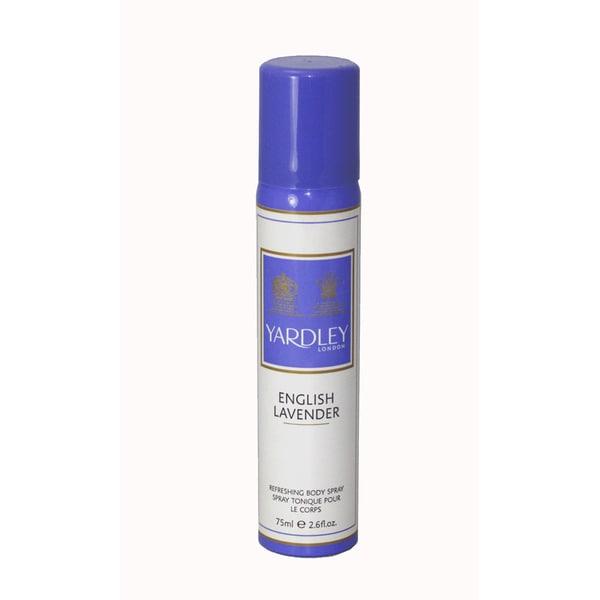 Yardley of London 'English Lavender' Women's 2.6-ounce Refreshing Body Spray