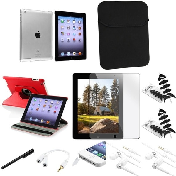 BasAcc Case/ Headset/ Splitter/ Sleeve/ Protector for Apple iPad 2