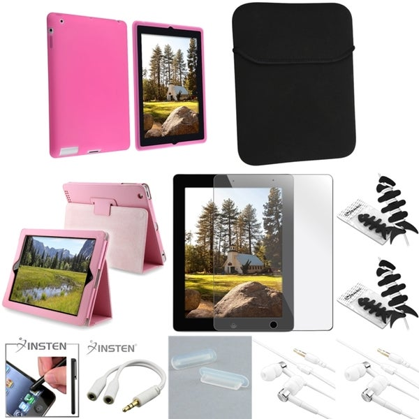Case/ Headset/ Splitter/ Sleeve/ Protector for Apple iPad 2/ 3