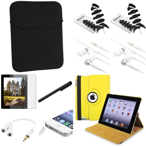 BasAcc Case/ Headset/ Protector/ Splitter/ Stylus for Apple iPad 2