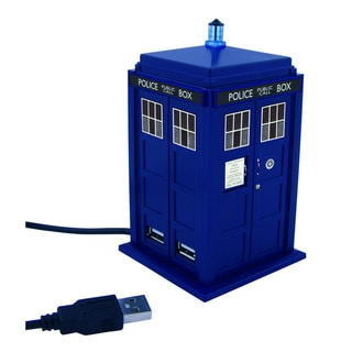 Doctor Who TARDIS 4-Port USB Hub Station