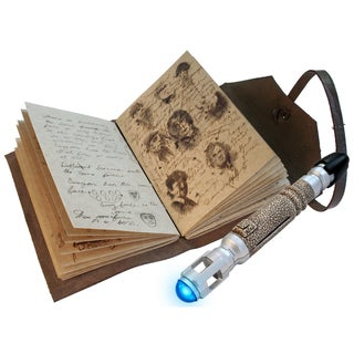 Doctor Who Journal of Impossible Things & Mini Sonic Screwdriver