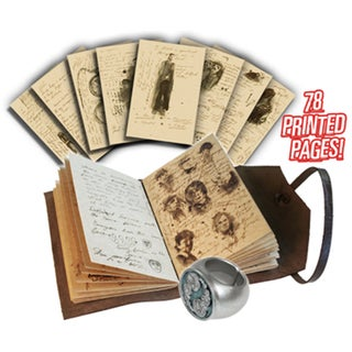 Doctor Who Journal of Impossible Things & Master Ring Set