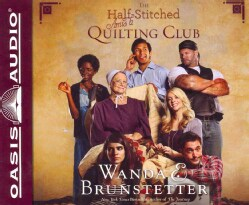 The Half-Stitched Amish Quilting Club (CD-Audio)
