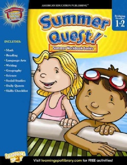 Summer Quest! Bridging Grades 1 to 2 (Paperback)
