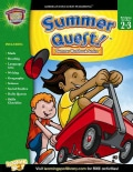 Summer Quest!: Bridging Grades 2 to 3 (Paperback)