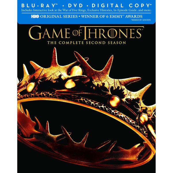 Game of Thrones: The Complete Second Season (Blu-ray/DVD) 10329269