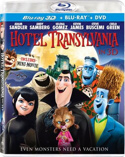 Hotel Transylvania (3D) (Blu-ray Disc)