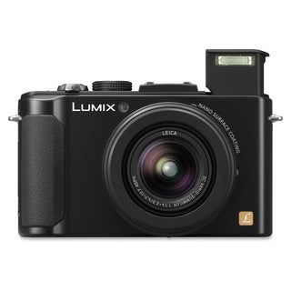 Panasonic Lumix DMC-LX7 10.1 Megapixel Compact Camera - Black