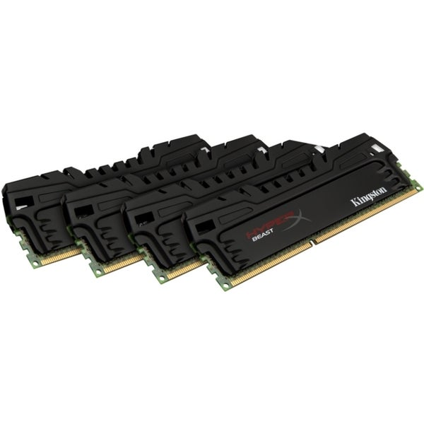 Kingston 16GB 1600MHz DDR3 CL9 DIMM (Kit of 4) XMP Beast Series