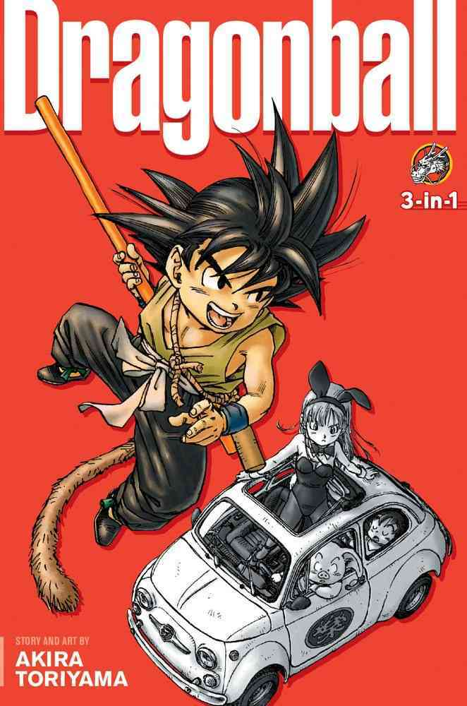 Dragon Ball 3-in-1 (Paperback)