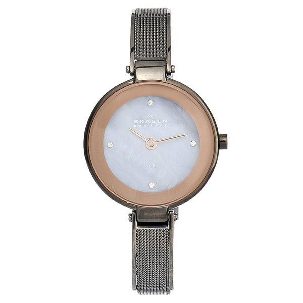 Skagen Women's Steel Slim Crystal Watch