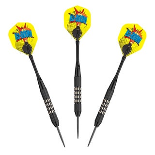 Hathaway Kaboom Steel Tip Darts (Set of 3)