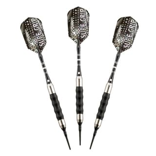 Hathaway Sure Grip Soft Tip Darts (Set of 3)