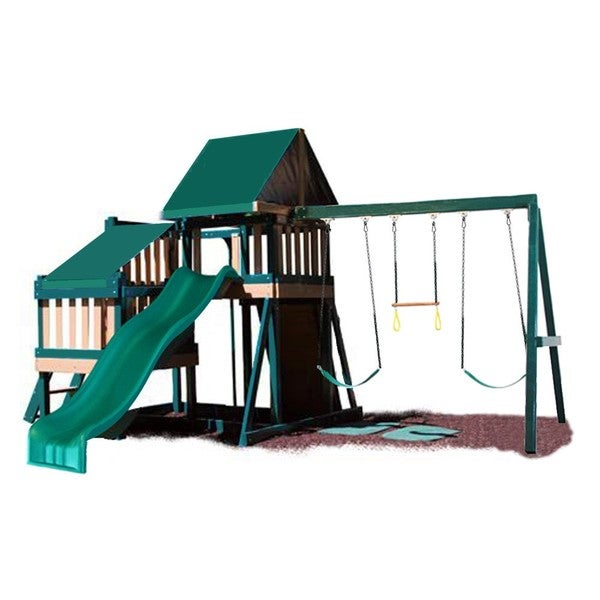 KidWise CONGO Monkey Playsystem #2 with Swing Beam