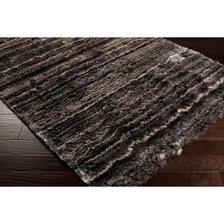 Hand-woven Emhouse Plush Shag Rug