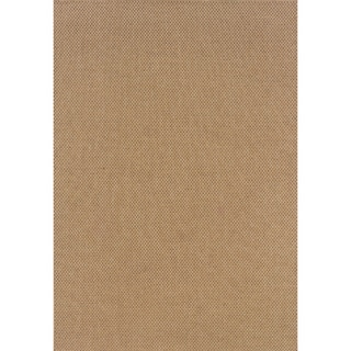 Outdoor/Indoor Sand Polypropylene Area Rug