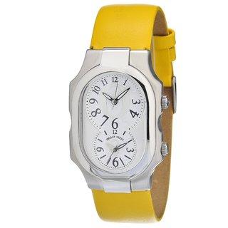 Philip Stein Women's Steel Limited Edition Oprah Winfrey Dual-time Watch