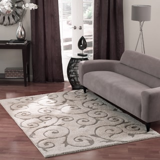 Rug Collective Posh Ivory Shag Area Rug