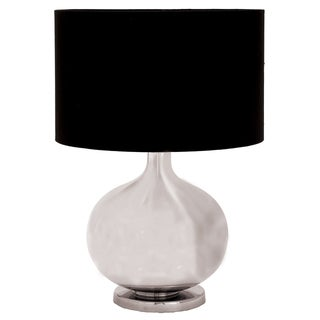 Metro Silver Glass 23-inch Artisan Table Lamp