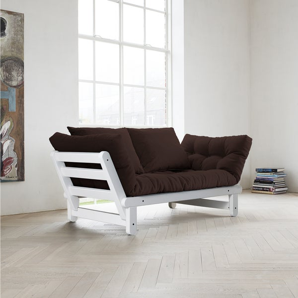 Chocolate/ White Fresh Futon Beat