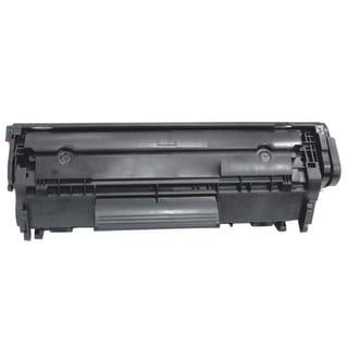 HP 12A Compatible Black Toner Cartridge for Hewlett Packard Q2612A (Remanufactured)