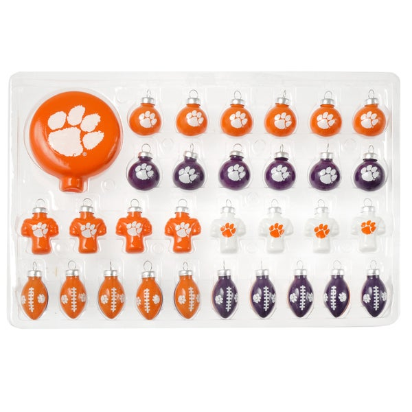 Forever Collectibles NCAA 31-piece Glass Ornament Set
