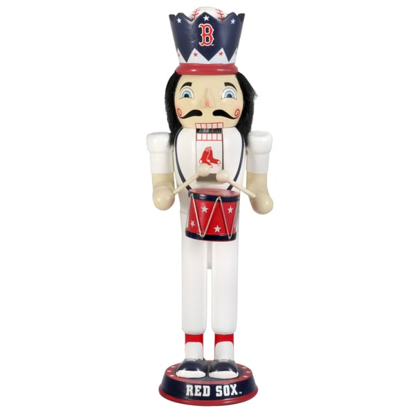 MLB Team 14-inch Drummer Nutcracker