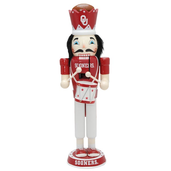 NCAA Team 14-inch Drummer Nutcracker