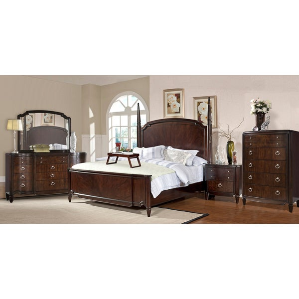 Milieu Park 5 Piece King Size Poster Bedroom Set 14959772 Shopping Big