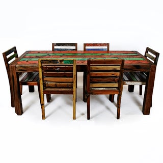 Ecologica Reclaimed Wood Dining Table