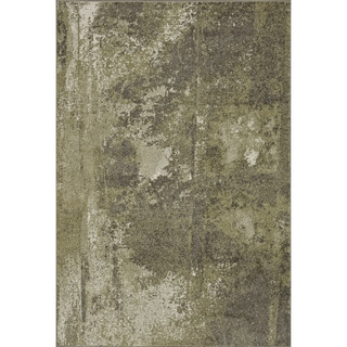 Arrakis Green/ Taupe Rug (3'9 x 5'6)