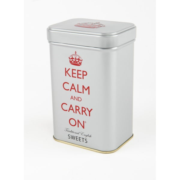 'Keep Calm and Carry on' Sweets Tin