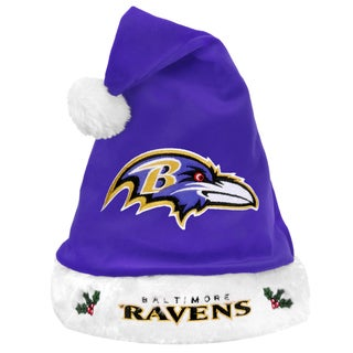NFL Embroidered Team Logo Santa Hat