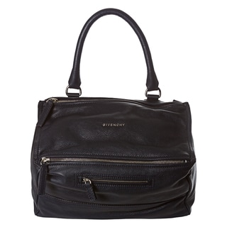 Givenchy 'Pandora' Medium Navy Leather Satchel