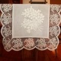 Authentic Turkish 70-inch Rectangular Embroidered Table Runner