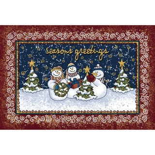 Indoor Comfort Winterland Friends Cushion Mat