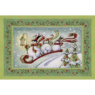 Indoor Comfort Winter Cheer Cushion Mat