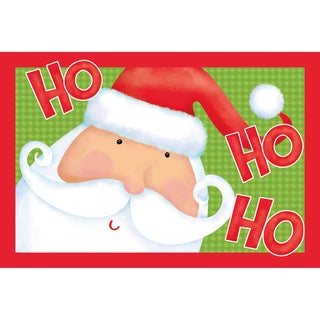 Indoor Comfort Ho Ho Santa Cushion Mat