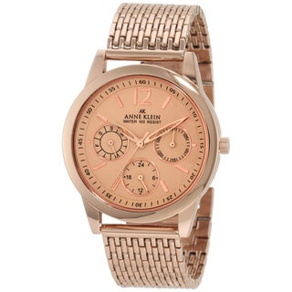 Anne Klein Women's Rose-gold Stainless Steel Watch