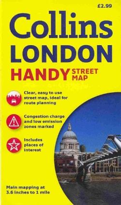 Collins London Handy Street Map (Sheet map, folded)