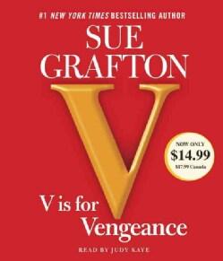 V Is for Vengeance (CD-Audio)