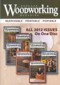 Popular Woodworking Magazine 2012 (CD-ROM)