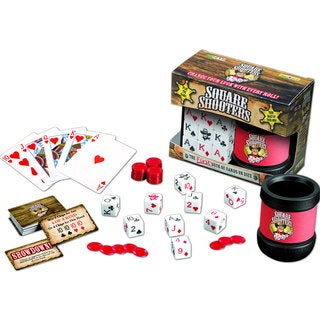 Square Shooters Game Deluxe Set