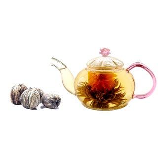 Tea Beyond Premium GFS2010 Juliet Blooming Tea Gift Set