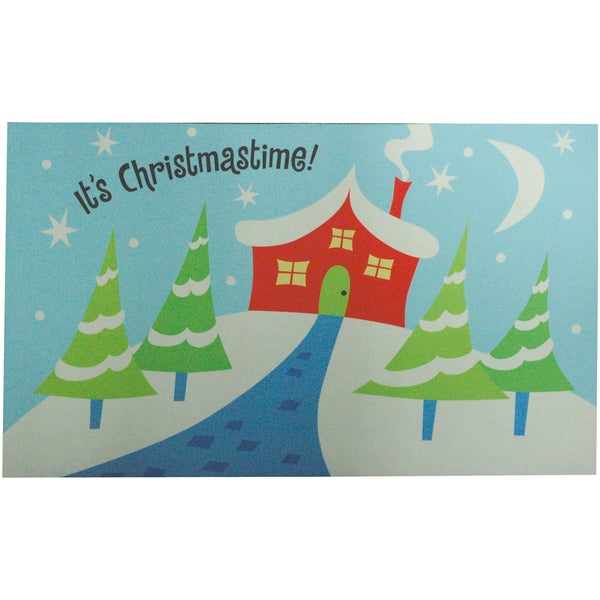 Outdoor It's Christmas Time Doormat