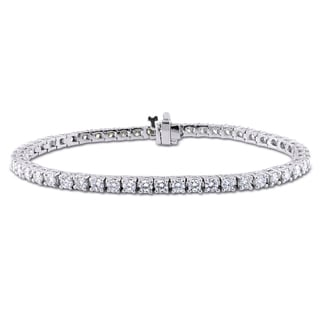 Miadora 18k Gold 4 3/5ct TDW Diamond Tennis Bracelet (G-H, I1-I2)