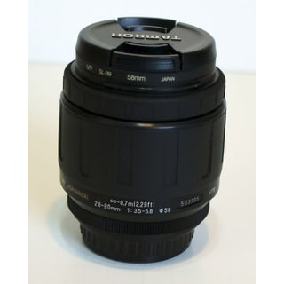 Tamron Zoom Wide Angle-Telephoto AF 28-80mm f/3.5-5.6 Aspherical Autofocus Lens
