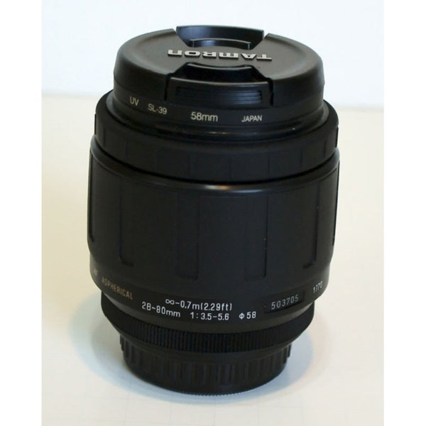 Tamron Zoom Wide Angle-Telephoto AF 28-80mm f/3.5-5.6 Aspherical Autofocus Lens for Pentax SLR Cameras